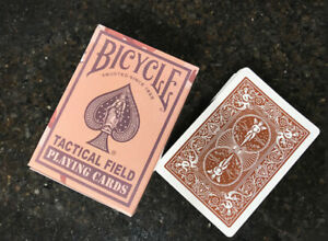 Bicycle Tactical Field Desert Brown Camo Playing Cards, 1 Sealed Deck