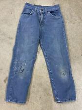Vintage 60's LEVIS BIG E Denim Blue Jeans 20 X 21 YOUTH
