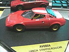 LANCIA Stratos HF V6 Street 1974 red rot rosso Vitesse RAR 1:43