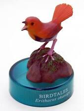 Kaiyodo Bottle Cap Figure Birdtales 3 Japanese robin bird US seller Rare