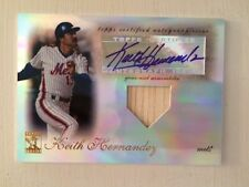 2009 Topps Tribute Keith Hernandez Auto and Bat Relic #66/99