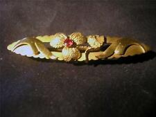 9 Carat Yellow Gold Garnet Edwardian Fine Jewellery