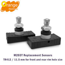 2Pcs Replacement Sensors For Orange M203T TP Checker TPMS Motorcycle 11.5mm Rim