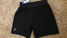 NEW M&S ACTIVEWEAR SHORTS SIZE SMALL ZIPPED POCKET KEEP FIT NAVY BLUE NEW £19.50