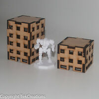 6mm Scale Buildings [A] Battletech Wargaming Terrain