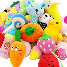 15X Wholesale Bundle Dog Toys Puppy Plush Chew Squeaker Sound Squeaky Chinhuahua