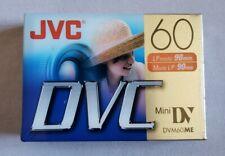JVC Mini DVC 60min Recording Video Tape M-DV60DU NEW SEALED