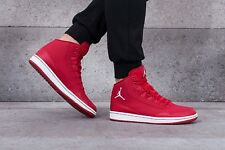 NIKE JORDAN EXECUTIVE Trainers Mid Leather Fashion - UK 7.5 (EUR 42) Red / White