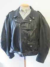 Schott NYC Men's Biker Waist Length Leather Coats & Jackets