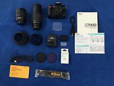 Nikon D D7000 16.2MP Digital SLR Camera - 2 Lens (Kit w/ AF-S DX ED VR ^^^LOW SC