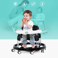 FASCOL Lauflernhilfe Gehfrei Laufhilfe Baby Walker Babywippe Gehhilfe Schwarz
