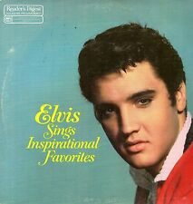 Elvis Presley LP Reader's Digest/RCA,1983, RDA-181,Sings Inspirational Songs~NM-