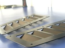 *NEW* Hood stainless steel Focus RS style bonnet vents universal POWDER COATING