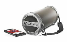 Akai a58023Bluetooth Outdoor Rechargeable Speaker Built In USB and SD Card Slots