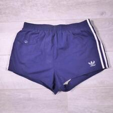 "ADIDAS 32-34"" Vintage Cotton Swim Swimming Sprinter Running Ibiza Shorts #D5106"
