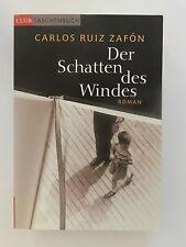 Carlos Ruiz Zafon Der Schatten des Windes Roman Club Taschenbuch Buch