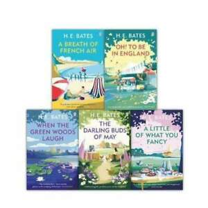 H. E. Bates The Larkin Family Series 5 Books Set Collection Oh! To Be In England