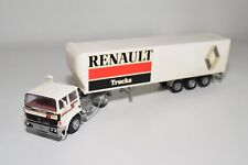N WHITE METAL KIT RENAULT G260 TRUCK WITH TRAILER RENAULT EXCELLENT CONDITION
