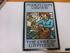 Robertson Davies THE LYRE OF ORPHEUS 1st trade Edition 1989 HC/DJ VG