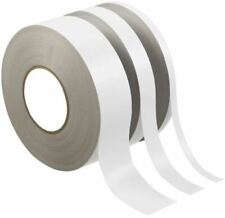 RS Pro White Double Sided Paper Tape, 25mm x 50m