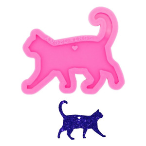Cat Silicone Mould, Cat Keychain / Decoration Epoxy Resin Mold, Kitten, Animals