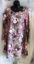 DOLLS OF PARIS Multi Floral Vestido día Dolly una línea 8-10 Estilo Retro Vintage