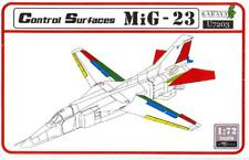 "Karaya Models 1/72 MIKOYAN MiG-23 ""FLANKER"" CONTROL SURFACES Resin & PE Set"