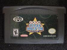 Texas Hold 'Em Poker (Nintendo Game Boy Advance, 2004) game only