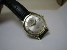Omega Constellation Auto Date 14 k Solid Yellow Gold S/S Pie Pan Dial 1962 Watch