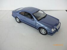 ANSON 1/18 MERCEDES BENZ CLK COUPE 230 COMPRESSOR PURPLE/BLUE NICE!!