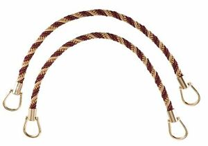 "Taupe Wine 18"" Rope Tiebacks Royal Harvest [Pair Of]"