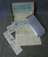 "VINTAGE ROLLS RAZOR ""VISCOUNT"" IN ORIGINAL BOX"