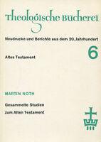 "Martin Noth "" - Recogidos Estudios a La Antiguas Testament #B1996090"