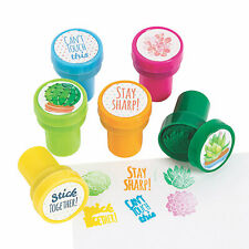 Cactus & Succulents Stampers - Stationery - 24 Pieces