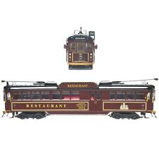 OO GAUGE FULLY ELECTRIC MELBOURNE W6 CLASS - RESTAURANT TRAM NO. 938
