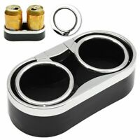 Universal Car Van Storage Drinking Bottle Double Can Cup Mount Holder Stand