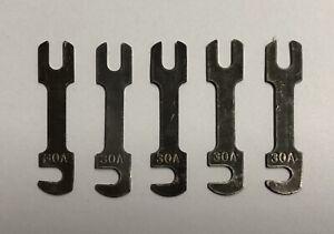 5x Honda Sicherung 30 A Hauptsicherung CX 500 650 CBX 1000 CB GL main fuse 30 A