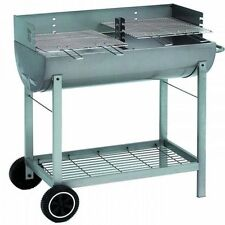 Charcoal LANDMANN Half Barrel Barbecues