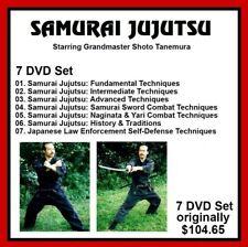 SAMURAI JUJUTSU 7 DVD Set Training series w Shoto Tanemura panther productions