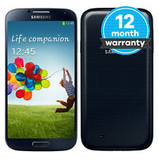 Samsung Galaxy S4 GT-I9500 - 16GB - Black Mist (EE) Smartphone