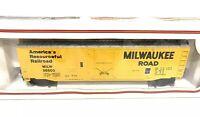 Bachmann HO Scale Milwaukee Road RR Railroad Freight Box Car Train NOS