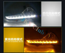 For KIA Sportage Sport 10-14 LED Daytime Running Light Yellow Turn Signal o DRL
