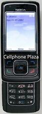 Nokia 6288 RM-78 - Black and Orange Unlocked Used Cellphone
