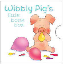 Wibbly Pigs Little Books Box Gift Set, Pig's Colours, Actions, Paints, Playtime