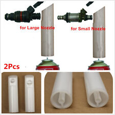 2x Universal Auto Diesel Fuel Injector Nozzle Cleaning Injection Cleaner Adaptor