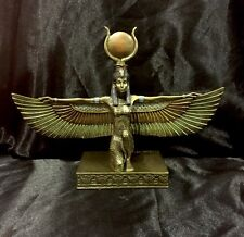 Bronze Cold Cast Statue Of Ancient Egyptian Goddess ISIS  23cm  High
