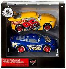 DISNEY STORE CARS 3 TWIN PACK RUST-EZE CRUZ RAMIREZ & FABULOUS LIGHTNING MCQUEEN