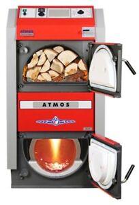 Holzvergaser Atmos Holzvergaserkessel Holzkessel GS 15 20 25 32 40 kw Ofen
