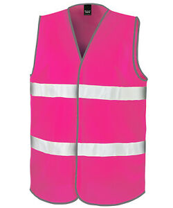Personalised High Vis Womens Jacket  - embroidered with your text