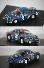 Trofeu Renault Alpine A110 Monte Carlo 1973 J. Henry 1/43 Tr823